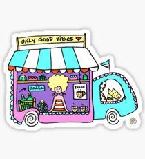 Happy Food Truck! Sticker