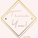 Thank You- elegant by KLCreative