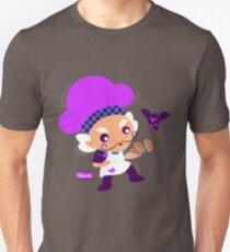 Peculiar Purple Pie Man Unisex T-Shirt