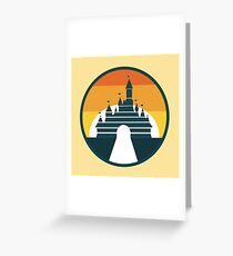 Disney Sunset Greeting Card