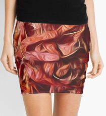 Red Chili peppers Mini Skirt