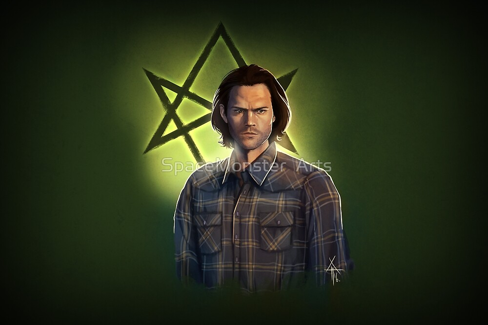 Sam Winchester by SpaceMonster  Arts