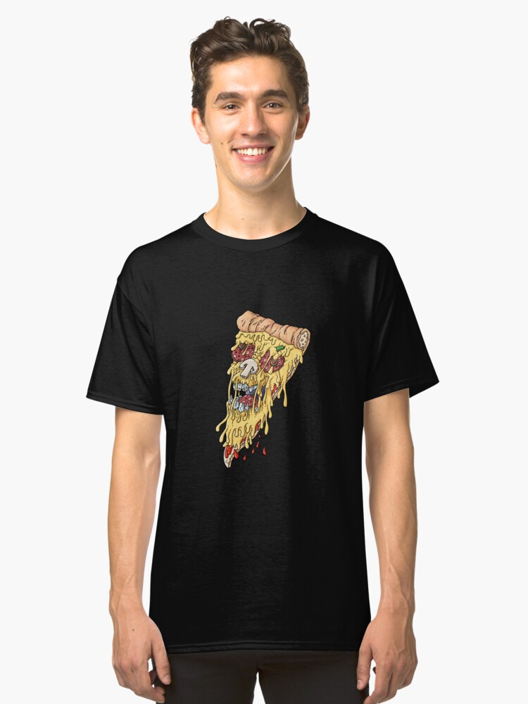 Pizza Crime 2 Classic T-Shirt Front