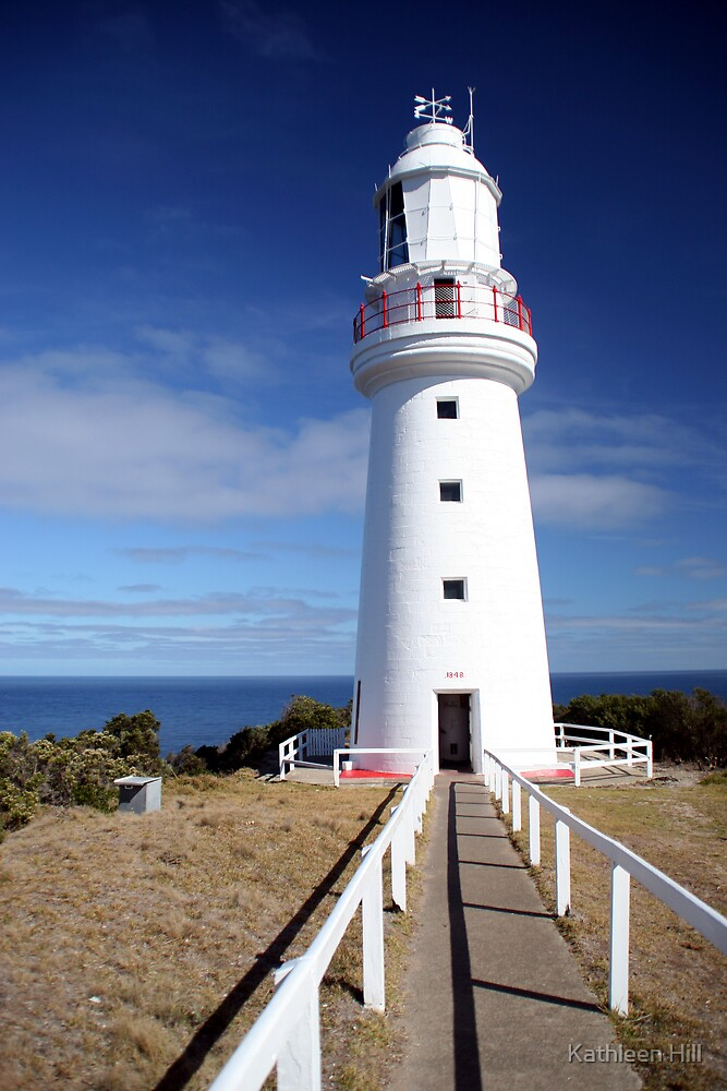 Cape Otway Light by Kathleen Hill