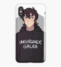 Keith - undercover galra iPhone Case/Skin