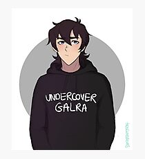 Keith - undercover galra Photographic Print