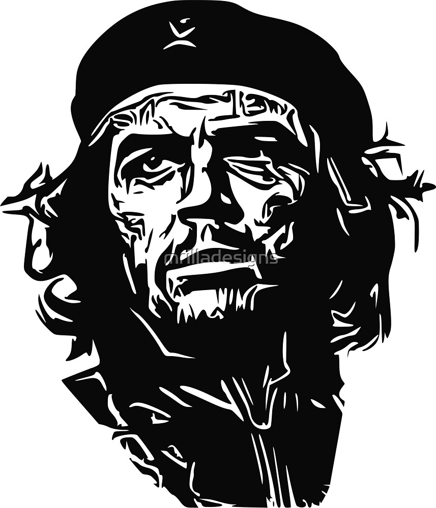 che guevara street art design by mrilladesigns