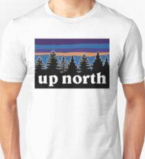 Camiseta ajustada en el norte