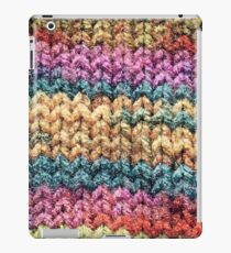 Knitted colours. iPad Case/Skin