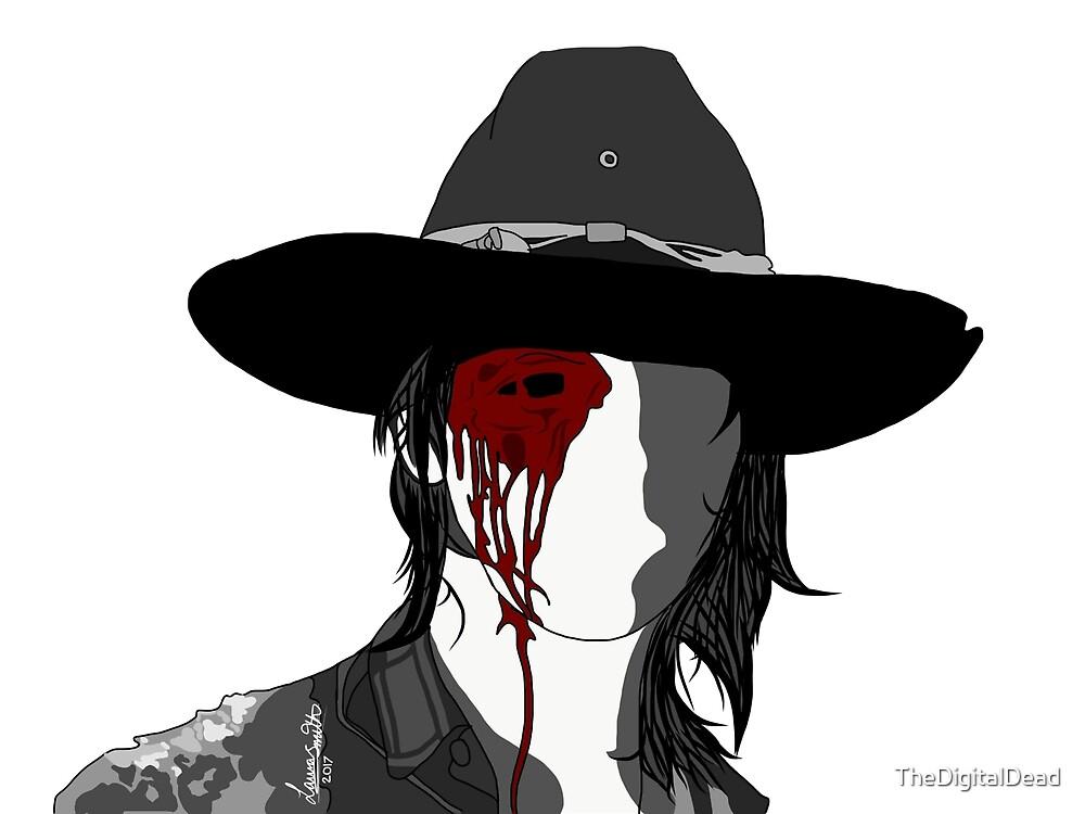 One eyed Carl by TheDigitalDead