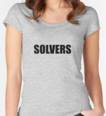 Solvers Women's Fitted Scoop T-Shirt