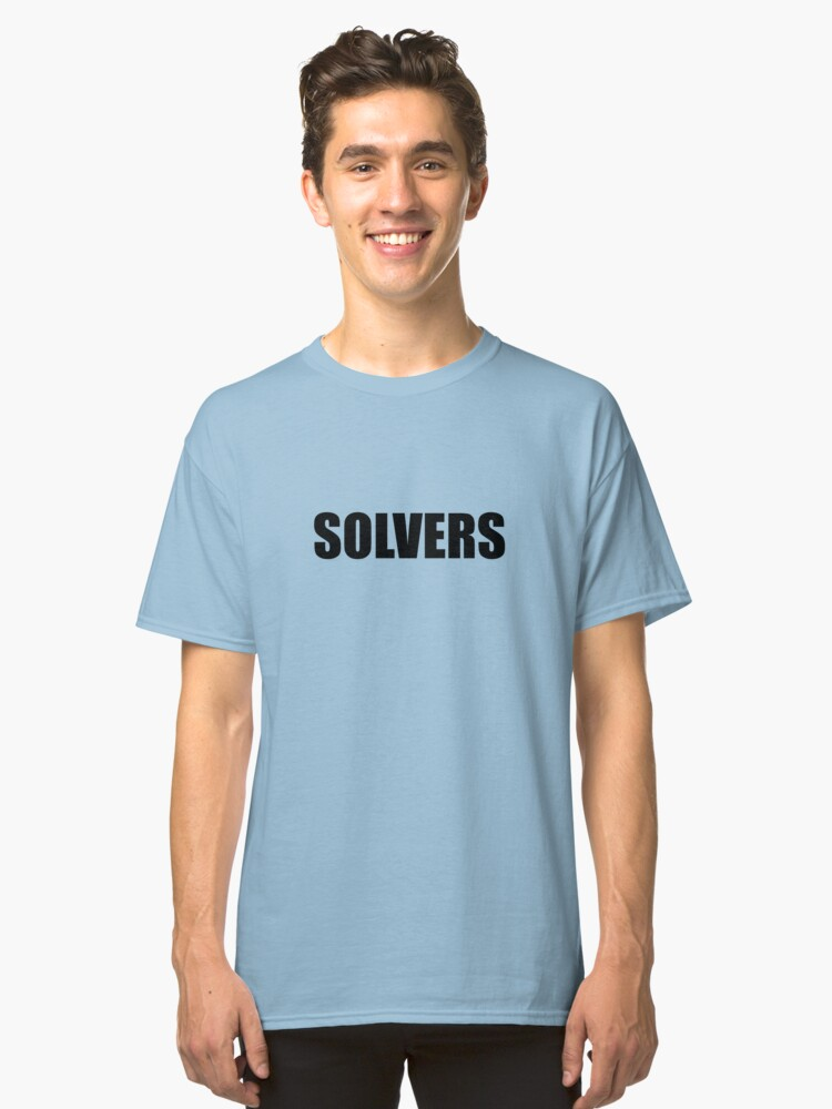 Solvers Classic T-Shirt Front