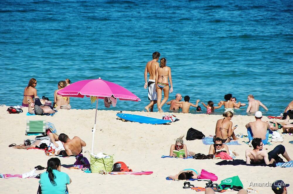 Coogee sunbathers by Amanda Cole