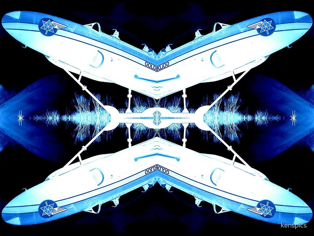 Plasma-Sonic Flight! by kenspics