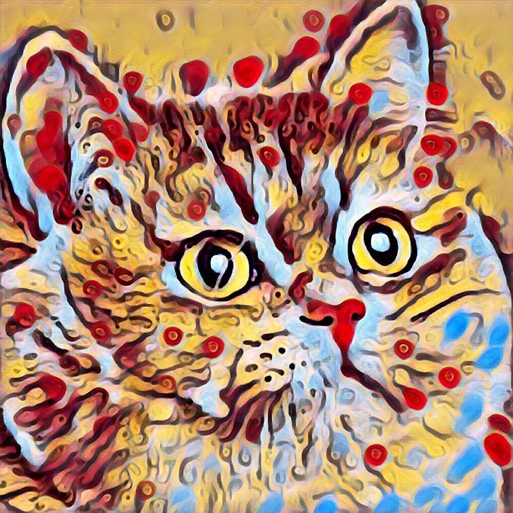 Artsy Cat by Filifjonka