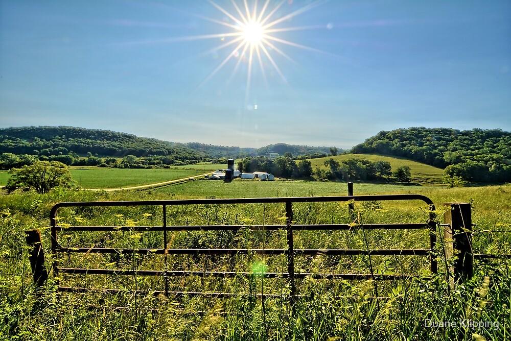 The Farm Gate by Duane Klipping