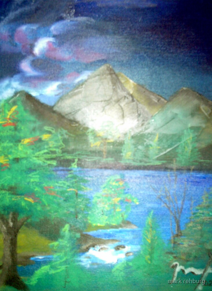 The Mountain Lake by mark rehburg