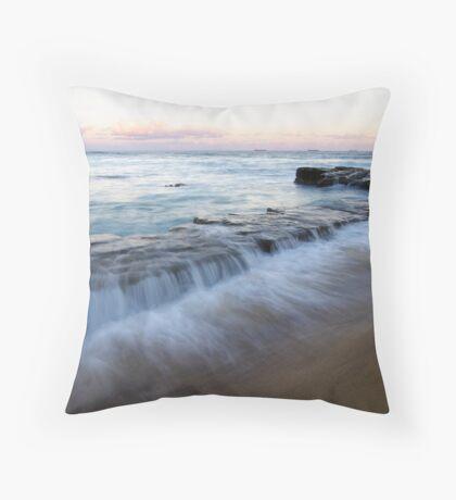 Dusky Rock Throw Pillow