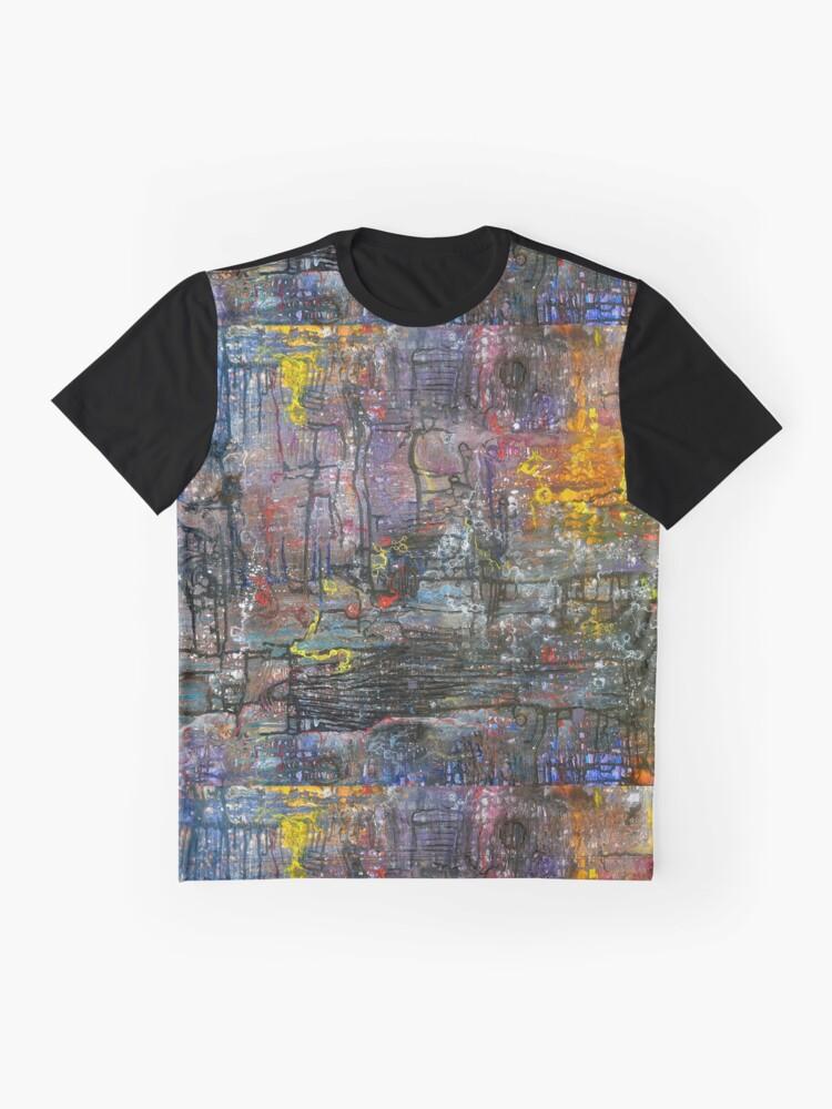 Alternate view of Schematics of the Arcane Graphic T-Shirt