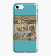 Castle - Murder, he wrote iPhone Case/Skin