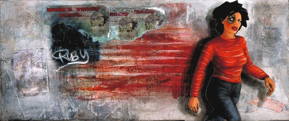 Who's That Girl by Amanda Burns-Elhassouni