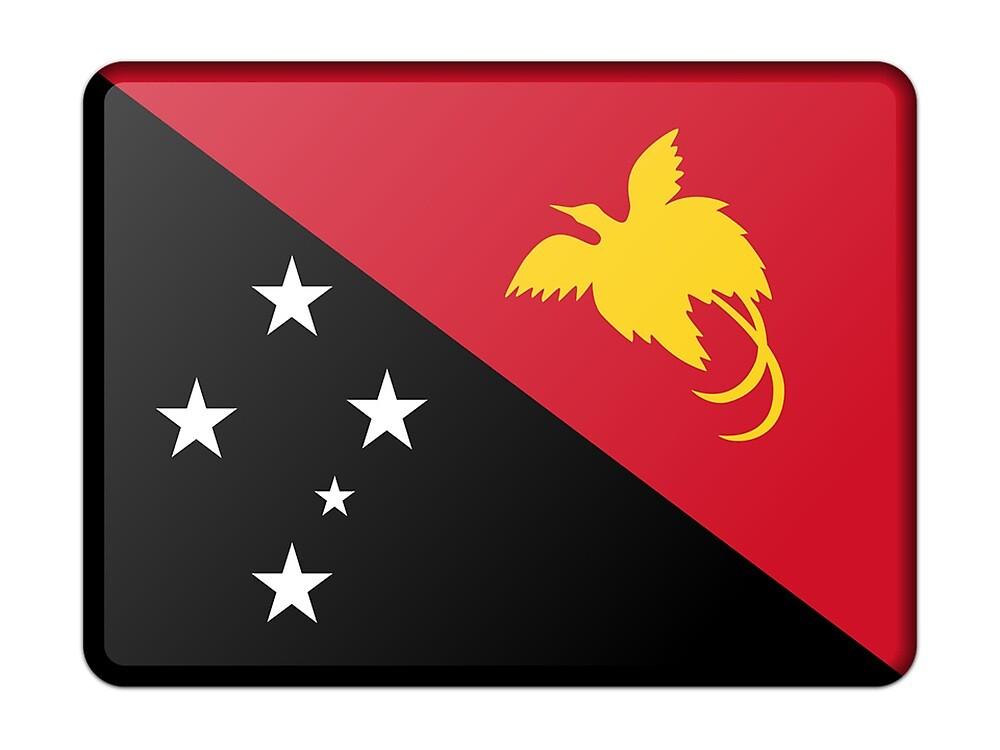 Papua New Guinea Flag  by prodesigner2