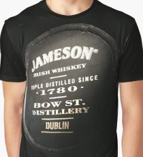 Jameson Irish Whiskey Graphic T-Shirt