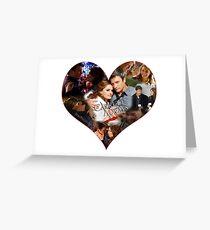 Caskett Always Heart Greeting Card