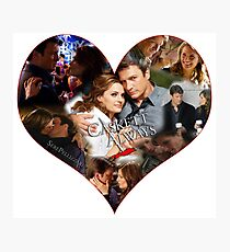Caskett Always Heart Photographic Print