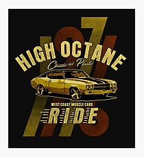 High Octane, West Coast Muscle Cars, Photographic Print