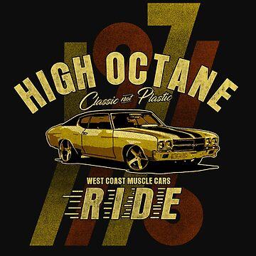 High Octane, West Coast Muscle Cars, by GarnetLeslie