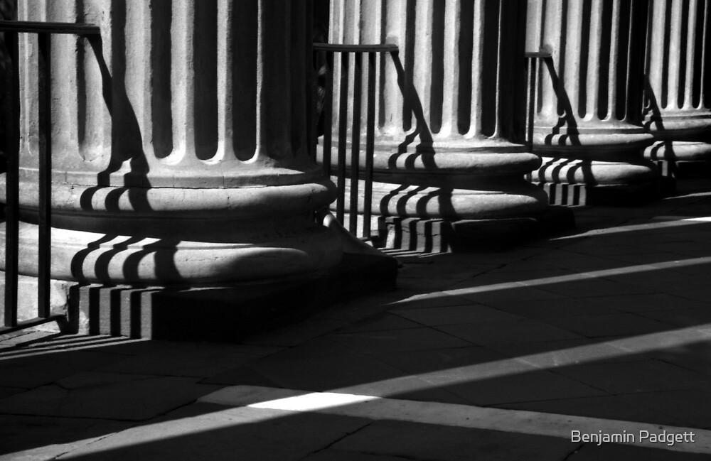 Randolph Hall Columns & Shadows by Benjamin Padgett