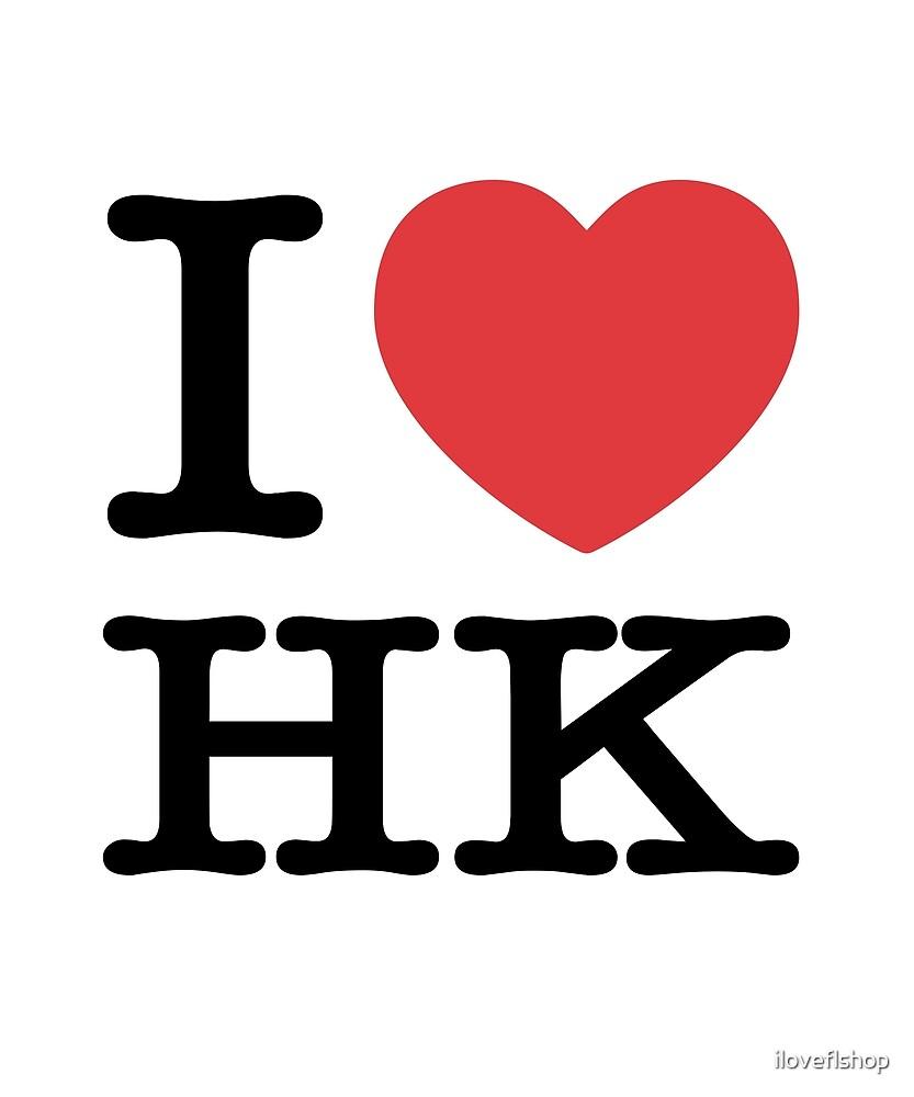 I Heart HK Love Hong Kong by iloveflshop