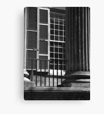 Randolph Hall Columns & Shutters Canvas Print
