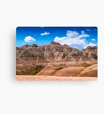 BadLands 1 Canvas Print