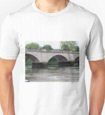 Twickenham Bridge over the Thames Unisex T-Shirt