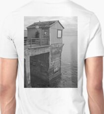 Cabin at the End of the Pier Unisex T-Shirt