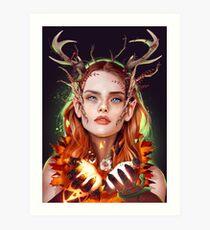 Keyleth Art Print