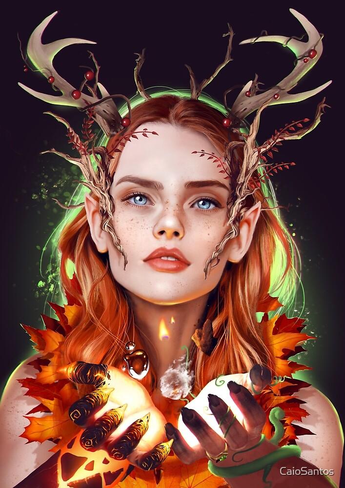 Keyleth by CaioSantos