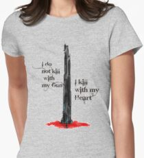 The Dark Tower Womens Fitted T-Shirt