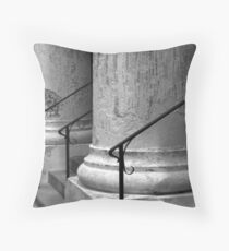 St. Mary's Columns Throw Pillow