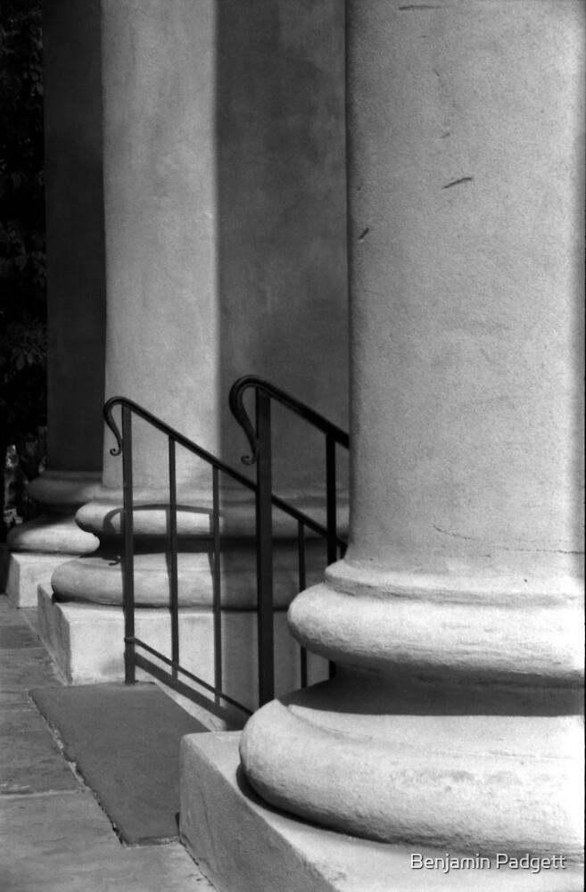 St. Philips Columns #2, Charleston, SC by Benjamin Padgett