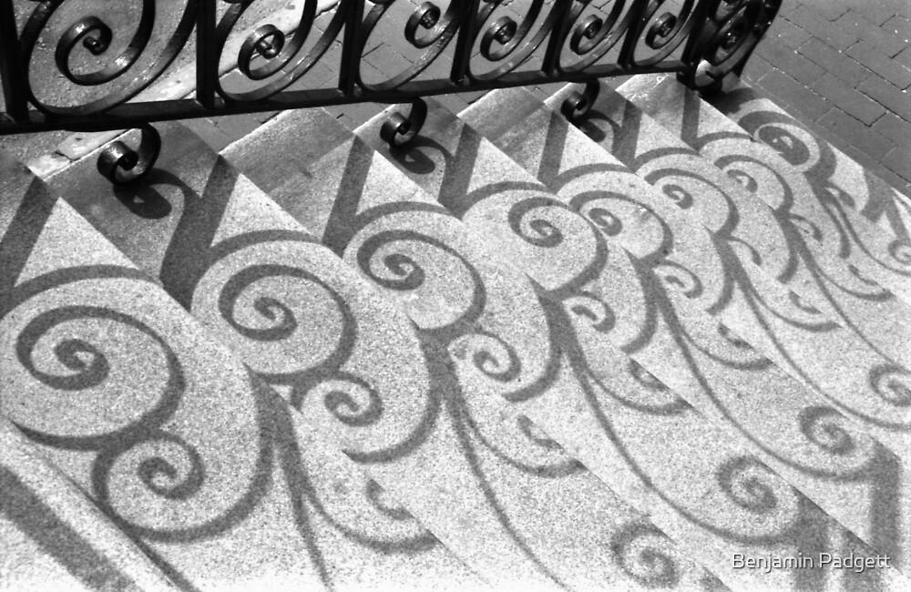 Shadows & Stairs No. 2 by Benjamin Padgett