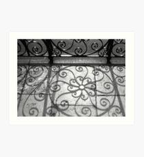 Shadow Swirls No. 2, Old Exchange Art Print
