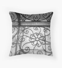 Shadow Swirls No. 2, Old Exchange Throw Pillow