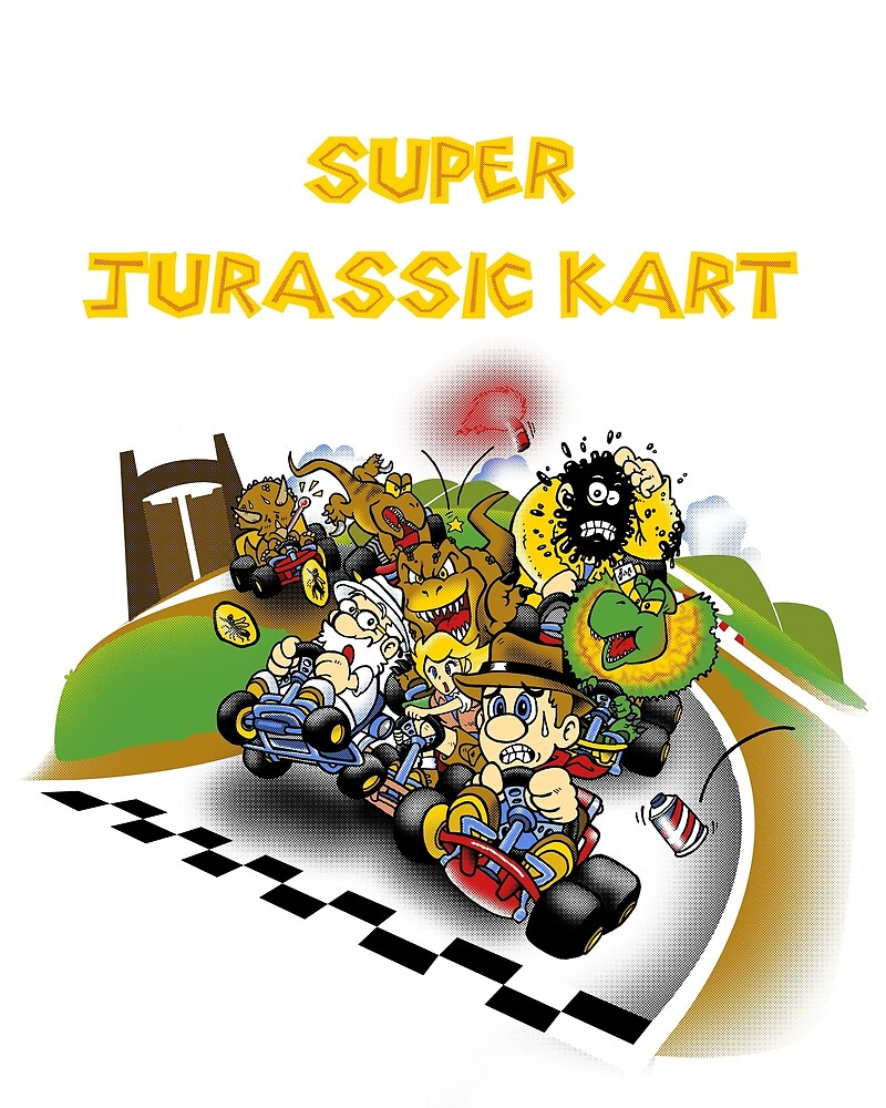 Super Jurassic Kart by Miguelhan