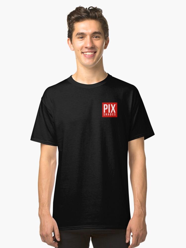 PIX Shades Sunglasses Classic T-Shirt Front