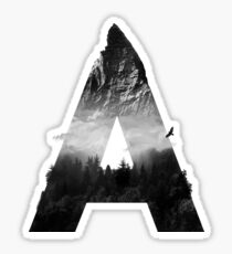 A is for Altitude Sticker