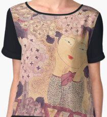 Gazing at the moon Chiffon Top