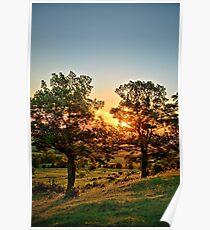 Balltown Valley Sunrise 2 Poster